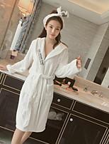 abordables -peignoir de bain frais, qualité supérieure 100% polyester 100% polyester