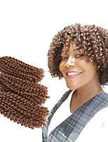 cheap -8 Inch Malibob Afro Kinky Curly Twist Mali Bob Ombre Mali Bob Crochet Braids Kinky Braided Hair Synthetic Marley Braiding Hair 3PC/pack