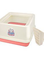 cheap -Cats Cleaning Pet Package Pet Carrier Trainer Portable Professional Multi Color Square Pink Blue Beige
