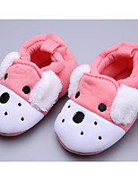 cheap -Baby Shoes Cotton Spring Fall Comfort First Walkers Flats for Casual Pink Blue Gray Dark Blue
