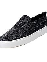 Недорогие -Муж. обувь Кожа Весна Осень Удобная обувь Мокасины и Свитер для Повседневные Черный Кофейный