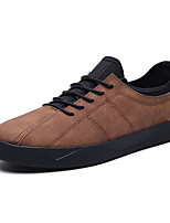 cheap -Men's Shoes Customized Materials Spring Fall Comfort Sneakers for Casual Office & Career Black Gray Brown