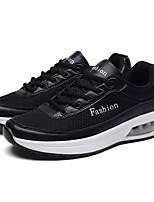 Недорогие -Муж. обувь Полиуретан Весна Осень Мокасины Кеды для Повседневные Белый Черный
