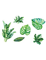 cheap -Fashion Botanical Wall Stickers Plane Wall Stickers Decorative Wall Stickers, Vinyl Home Decoration Wall Decal Wall Window