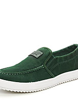 cheap -Men's Shoes Canvas Summer Comfort Sneakers for Casual Black Green Blue