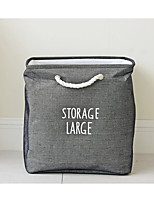 cheap -Fabrics Rectangle Multi-function Home Organization, 1pc Laundry Bag & Basket