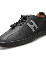 cheap -Men's Shoes Rubber Spring Fall Comfort Oxfords for Outdoor Black Gray Brown