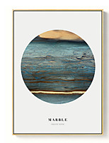 cheap -Landscape Oil Painting Wall Art,PS Material With Frame For Home Decoration Frame Art Indoors