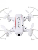 economico -RC Drone HY16010白色 4 Canali 6 Asse 2.4G Con la macchina fotografica 0.3MP HD Quadricottero Rc WIFI FPV Illuminazione LED Tasto Unico Di