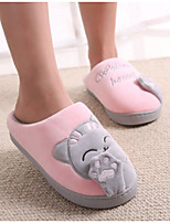 cheap -Girls' Shoes Fabric Spring Fall Comfort Slippers & Flip-Flops for Casual Pink Blue Peach Black
