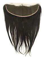 Недорогие -13x4 закрытие кружева прямое закрытие человеческих волос для женщин