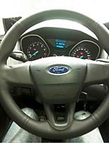 abordables -couvre-volant de voiture (cuir) pour universal ford 2015 général focus de moteur convient aux modèles à faible distribution