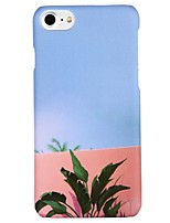 abordables -Funda Para Apple iPhone 6 iPhone 7 Diseños Funda Trasera Paisaje Árbol Dura ordenador personal para iPhone X iPhone 8 Plus iPhone 8