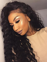 cheap -Cheap Deep Wave 13x6 Glueless Lace Front Human Hair Lace Wigs with Baby Hair 100% Peruvian Human Hair 150% Density Lace Front Wigs Natural Hairline
