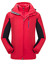 cheap -Men's Women's Hiking Jacket Outdoor Winter Windproof Breathability Winter Jacket Single Slider Running/Jogging Cycling Hunting Fishing