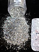 Недорогие -1шт блестки инструмент сумки гвоздь блеск серебристый