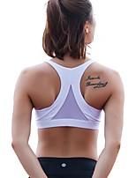 baratos -Mulheres Sutiã Esportivo Secagem Rápida Respirabilidade Resistente ao Choque Blusas para Ioga Correr Exercício e Atividade Física Fibra