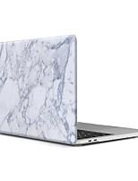 "Недорогие -MacBook Кейс для Мрамор Пластик материал Новый MacBook Pro 15"" Новый MacBook Pro 13"" MacBook Pro, 15 дюймов MacBook Air, 13 дюймов"