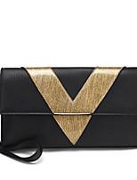 preiswerte -Damen Taschen PU Unterarmtasche Reißverschluss für Normal Alle Jahreszeiten Schwarz Grau