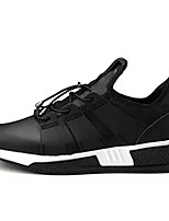 cheap -Men's Shoes Tulle Spring Fall Comfort Sneakers for Casual Black Gray Black/White