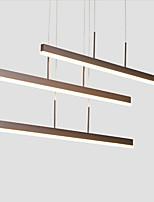 abordables -Europe du Nord style post simplicité moderne conduit pendentif lumières salon salle à manger acrylique pendentif lumière