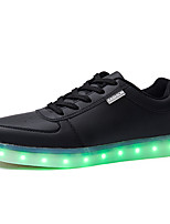 cheap -Boys' Shoes PU Spring Fall Comfort Sneakers for Casual Black
