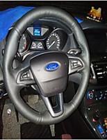abordables -Couvertures de volant de voiture (cuir) pour moteurs universels de Ford ford concentrer les modèles haut de gamme