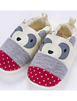 cheap -Baby Shoes Fabric Winter Fall Comfort First Walkers Slippers & Flip-Flops for Casual Beige