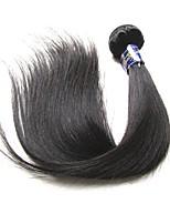 abordables -9a grade qualité bonne péruvienne vierge faisceaux de cheveux humains soie droite une pièce 100g en vente couleur noire naturelle tisse