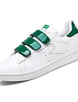 Недорогие -Для мужчин обувь Полиуретан Весна Осень Удобная обувь Кеды для Повседневные Золотой Черно-белый Белое/серебро Wit En Groen