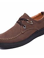Недорогие -Муж. обувь Ткань Весна Осень Обувь для дайвинга Удобная обувь Кеды для Повседневные на открытом воздухе Черный Желтый Кофейный