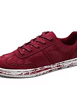 cheap -Men's Shoes PU Spring Fall Comfort Sneakers for Casual Gray Red Blue