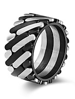 cheap -Men's Band Rings Rock Hiphop Stainless Steel Jewelry Bar Street