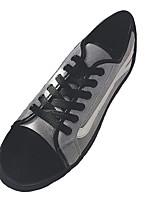 Недорогие -Муж. обувь Ткань Весна Осень Светодиодные подошвы Кеды для Повседневные Черный Серый