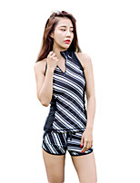 cheap -HISEA® Women's Semi-Drysuit Sleeveless Wetsuit Yoga Fast Dry Windproof Folding Swimming Stretchy UV resistant Lycra Diving Suit Sleeveless
