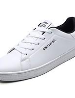 abordables -Homme Chaussures Polyuréthane Printemps Automne Confort Basket pour Décontracté Blanc Noir/blanc Blanc et vert