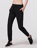 economico -Per uomo Pantaloni da corsa Elastico Calze/Collant/Cosciali Corsa Cotone Nero Grigio M L XL XXL