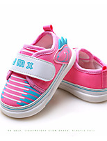 cheap -Baby Shoes Fabric Spring Fall Comfort First Walkers Sneakers for Casual Pink Blue Beige