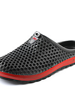 Недорогие -Муж. обувь Этиленвинилацетат Лето Удобная обувь Тапочки и Шлепанцы для Повседневные Черный Темно-синий Серый