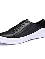 cheap -Shoes PU Spring Fall Comfort Sneakers for Outdoor White Black