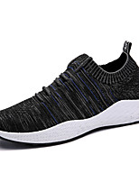 cheap -Men's Shoes Tulle Spring Fall Comfort Sneakers for Casual Light Grey Black/White Black/Blue