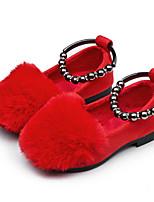 economico -Da ragazza Scarpe Pelle nubuck PU (Poliuretano) Inverno Autunno Comoda Scarpe da cerimonia per bambine Ballerine per Casual Nero Grigio