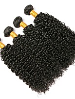 cheap -Brazilian Kinky Curly Human Hair Weaves Hot Sale 0.2