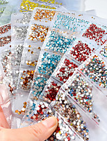 cheap -Outfits Crystal Nail Glitter Fashion High Quality Daily Nail Art Design