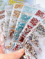 economico -Completi Cristallo Glitter per unghie Di tendenza Alta qualità Quotidiano Nail Art Design
