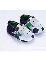 cheap -Baby Shoes Fabric Winter Fall Comfort First Walkers Flats for Casual Dark Blue