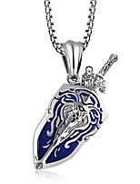 cheap -Men's , Casual Fashion Pendant Necklace , Titanium Steel Pendant Necklace , Other Daily
