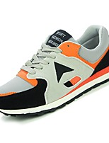 cheap -Women's Shoes PU Spring Fall Comfort Sneakers Flat Heel for Casual Black Orange Purple