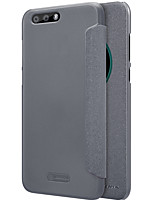 cheap -Case For Asus Zenfone 4 ZE554KL Card Holder with Windows Flip Frosted Auto Sleep/Wake Up Full Body Cases Solid Color Hard PU Leather for