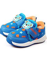 Недорогие -Мальчики Девочки обувь Полотно Весна Осень Удобная обувь Кеды для Повседневные Пурпурный Красный Светло-синий